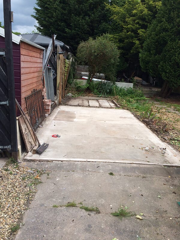 Concrete Garage Removal | Fallon Pilott Ltd